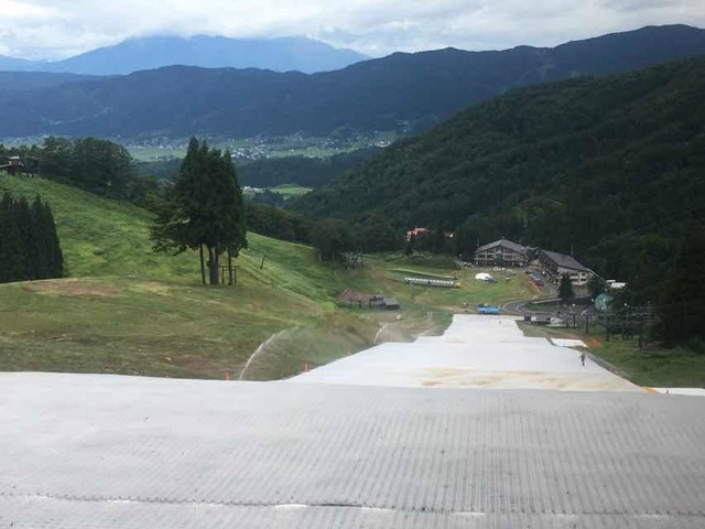 野沢温泉スキー場 サマーゲレンデ