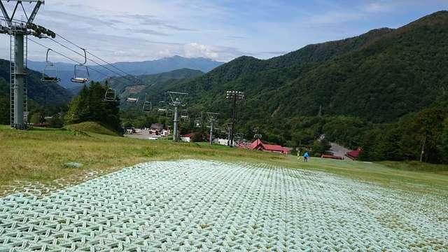 丸沼高原スキー場 サマーゲレンデ