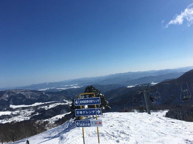 万場スキー場