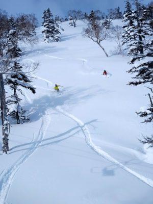 かぐらスキー場の第5ロマンスリフト