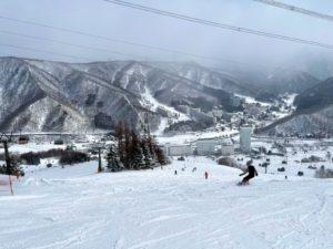 苗場スキー場のコース