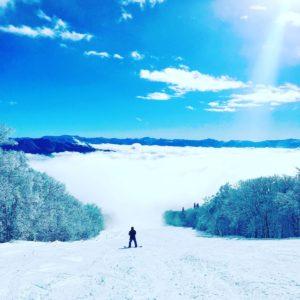 妙高杉ノ原スキー場の雲海