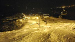 石打丸山スキー場のナイター