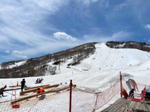 5月のかぐらスキー場