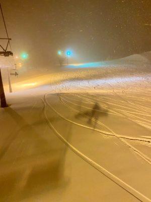 赤倉温泉スキー場のナイター