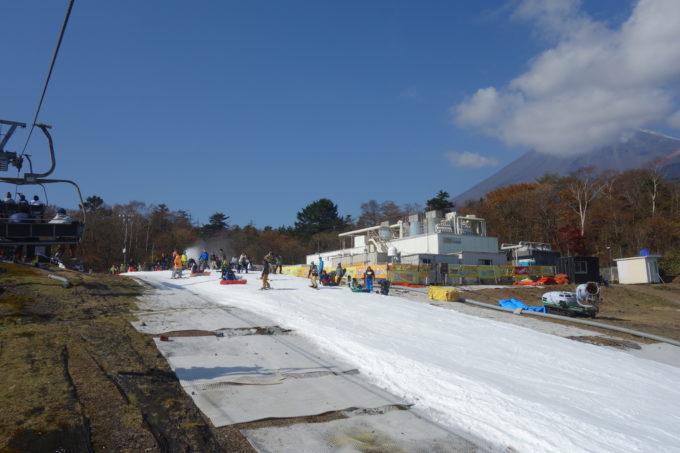 スキー 場 富士山