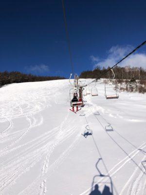 湯の丸スキー場の雪質