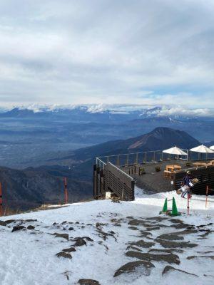 竜王スキーパークの雲海テラス