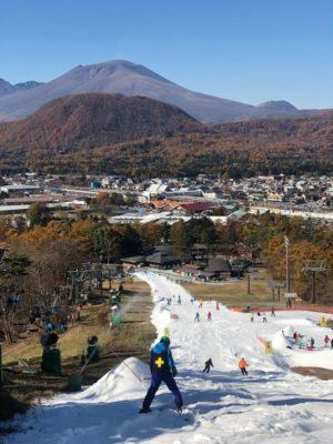 軽井沢プリンスホテルスキー場のコース