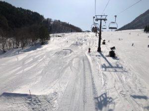 木島平スキー場のパーク