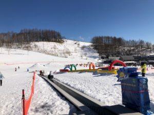 車山高原スキー場のキッズパーク