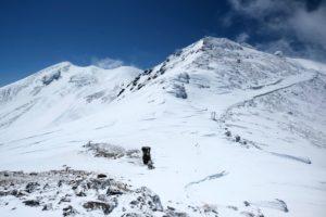 Mt.乗鞍スノーリゾートのバックカントリー