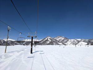 栂池高原スキー場のワイドバーン
