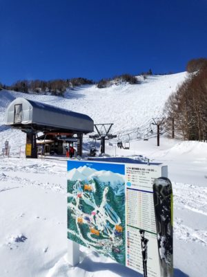 Mt.乗鞍スノーリゾートの大斜面